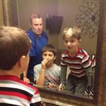 Дети экспериментируют с прическами