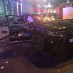 В Харькове девушка на «Лексусе» совершила наезд на пешеходов