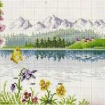 Как создать пейзажную картину из бисера