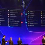 Российские клубы узнали соперников в Лиге чемпионов